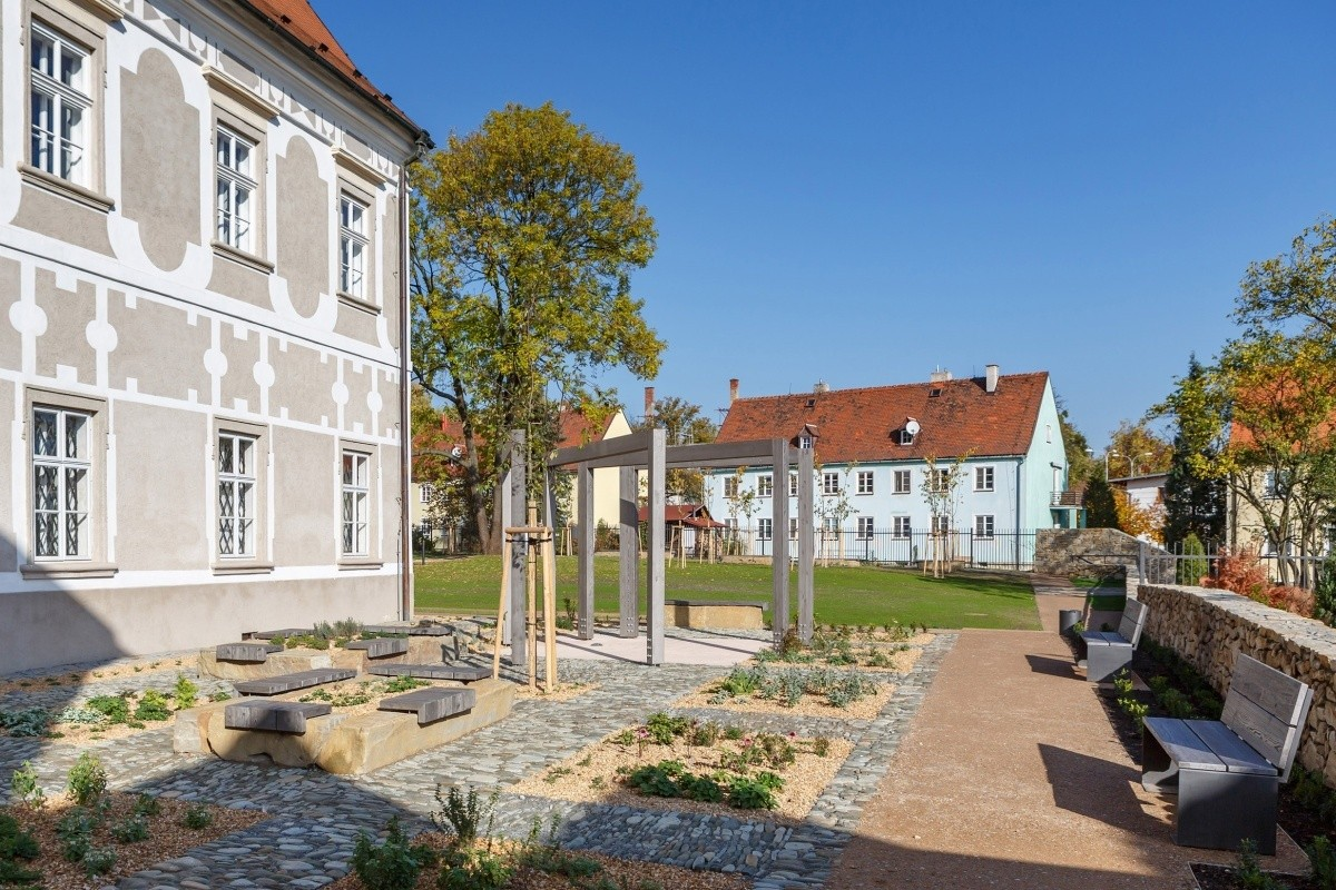 Příbor - piaristické zahrady
