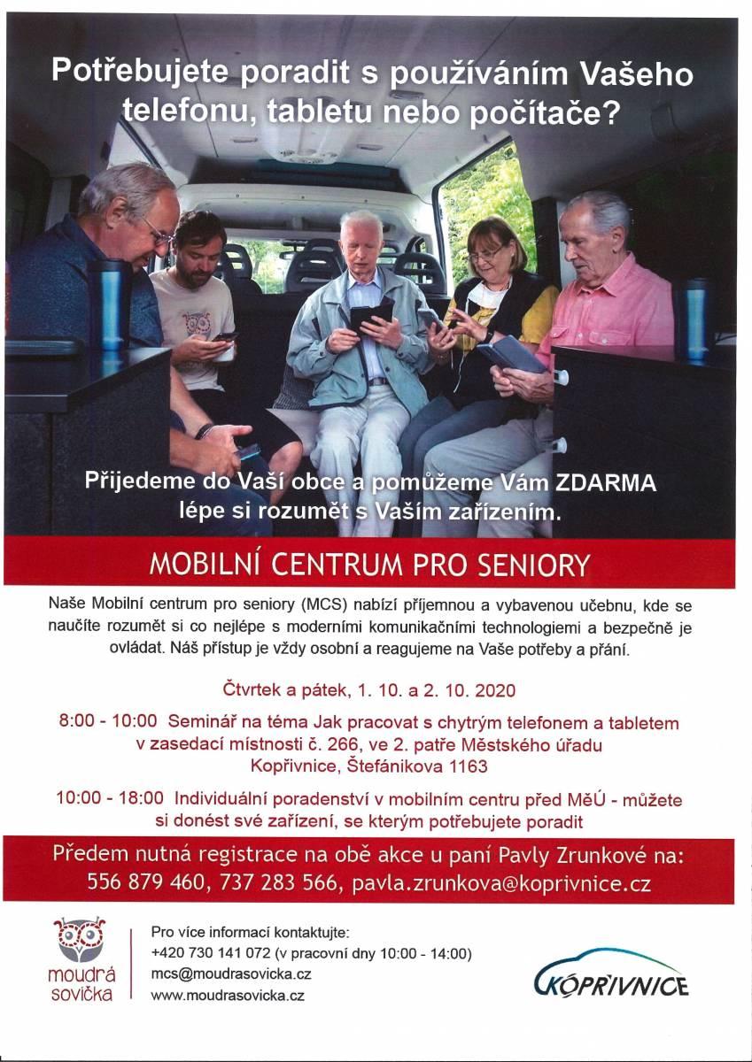 Mobilní centrum pro seniory