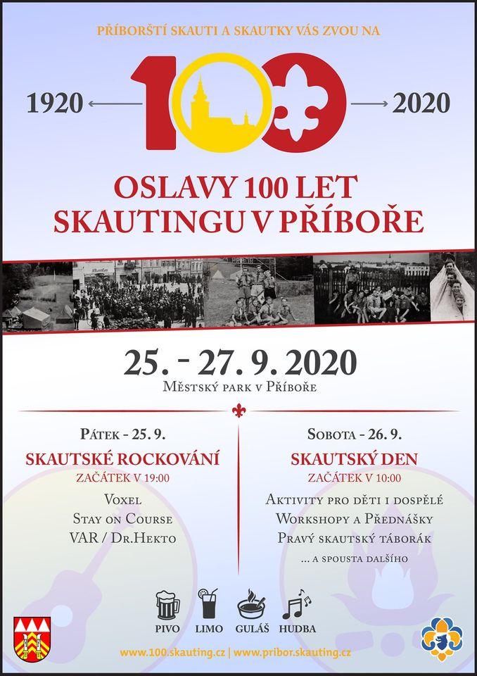 Oslavy 100 let skautingu v Příboře