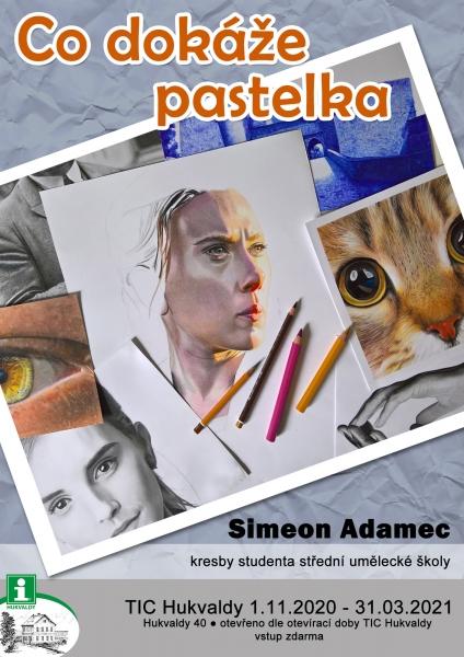 Co dokáže pastelka - Simeon Adamec