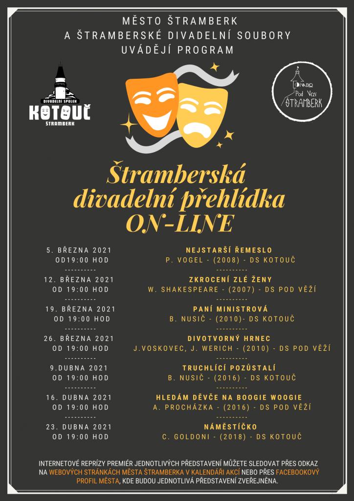 DIVADLO: Štramberská divadelní přehlídka ON-LINE - KOPIE