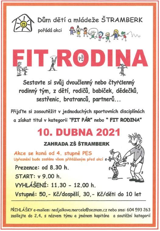 PRO DĚTI: FIT RODINA