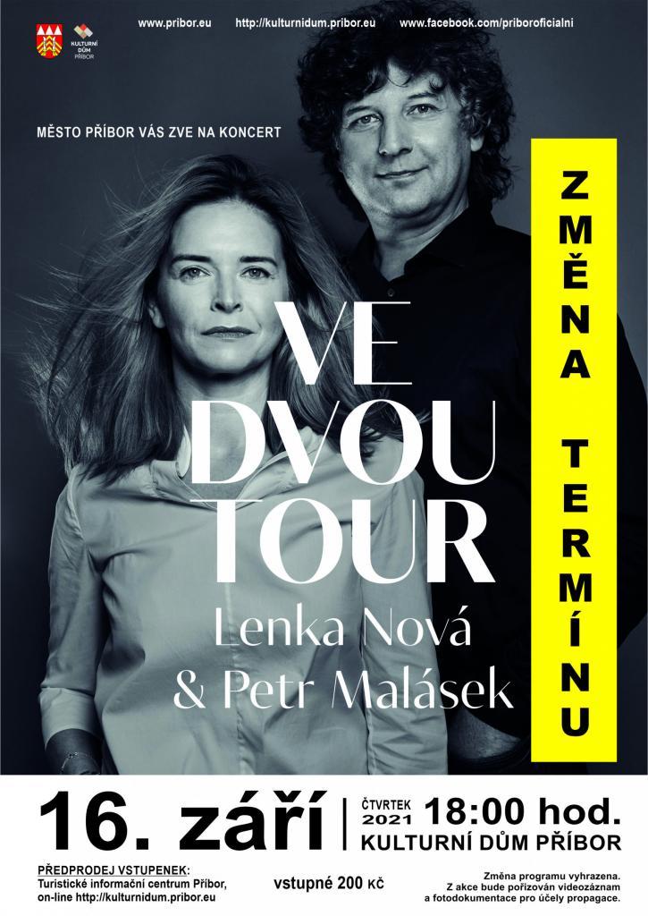 KONCERT: Ve dvou TOUR - ZRUŠENO - KOPIE