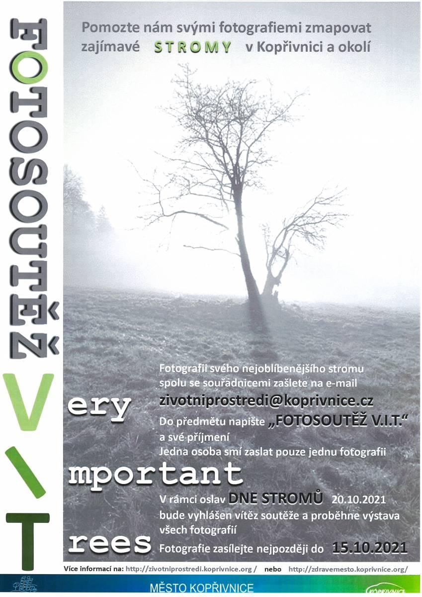 SOUTĚŽ: Very Important Trees