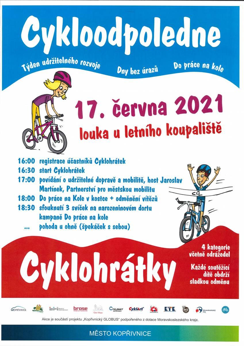 PRO DĚTI: Cykloodpoledne