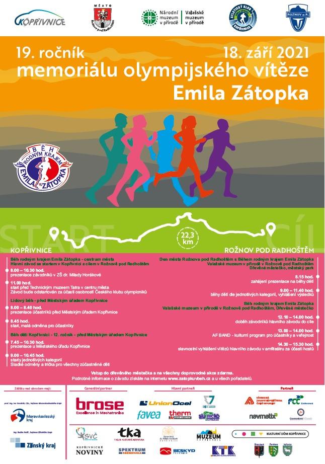 Běh rodným krajem Emila Zátopka