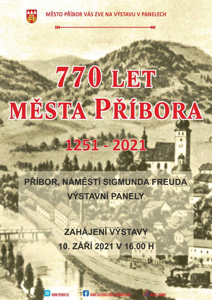VÝSTAVA: 770 let města Příbora