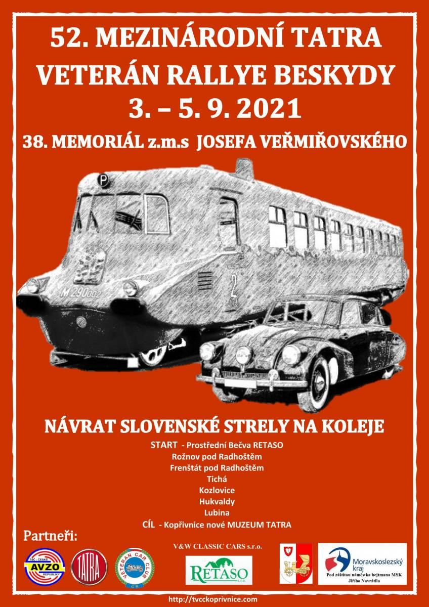 52. mezinárodní Tatra veterán rallye Beskydy