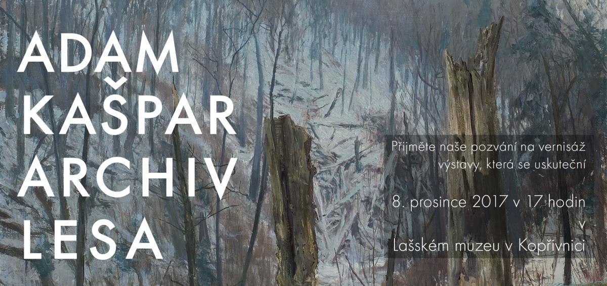 Archiv lesa - vernisáž