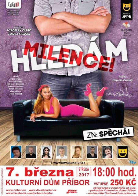 Divadlo: Hledm milence, zn: spch!! - Pbor - Lask brna