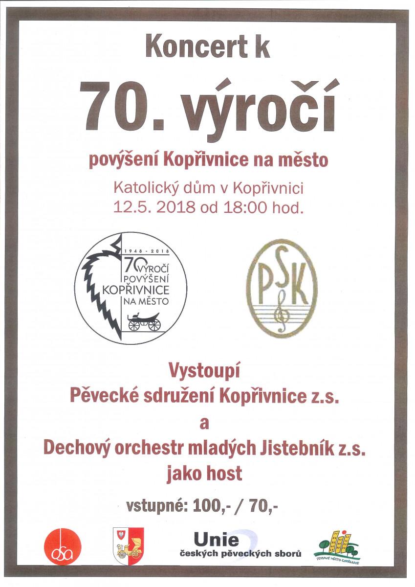 koncert k 70.výročí