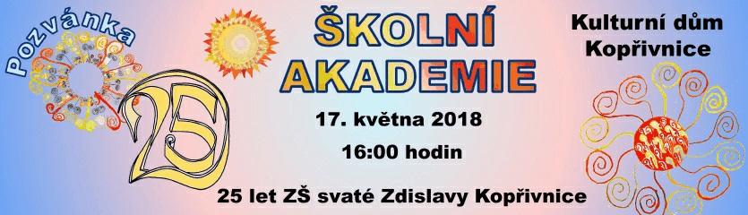 Školní akademie ZŠ sv. Zdislavy