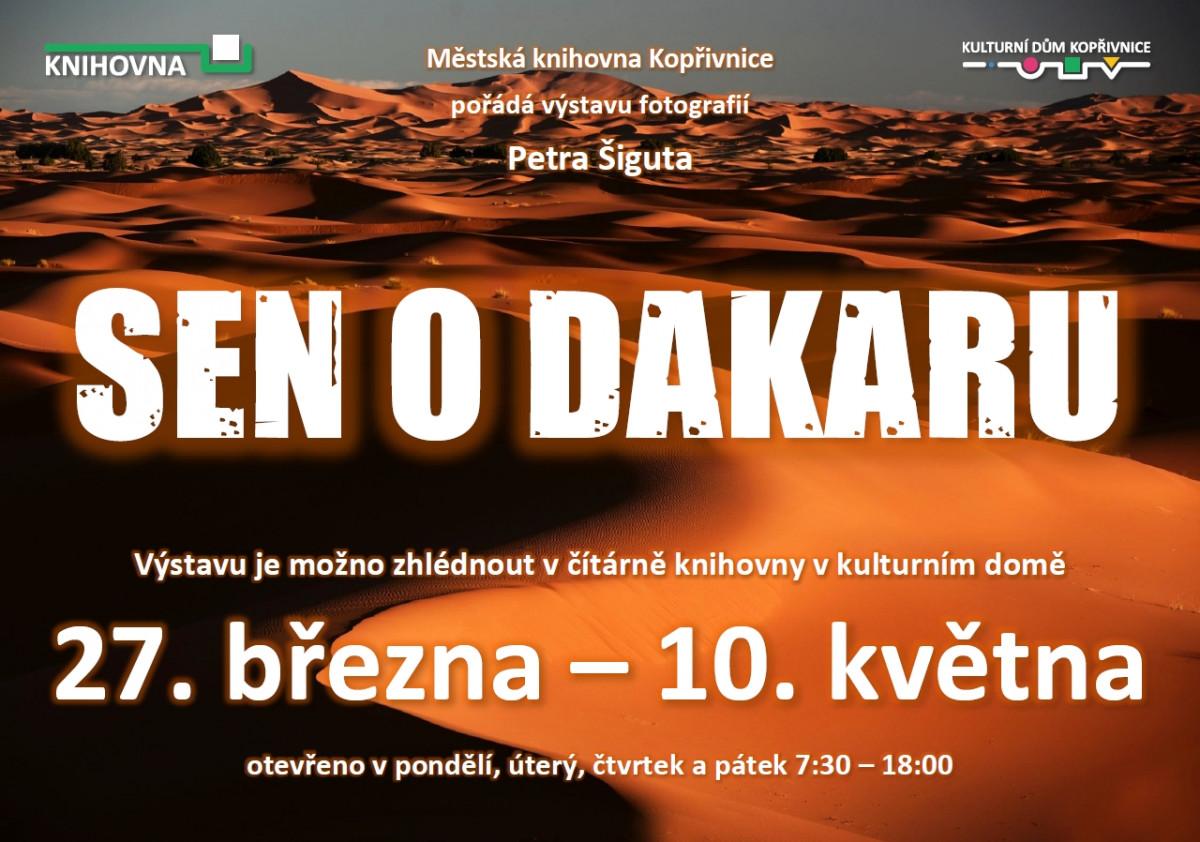 Sen o Dakaru - výstava