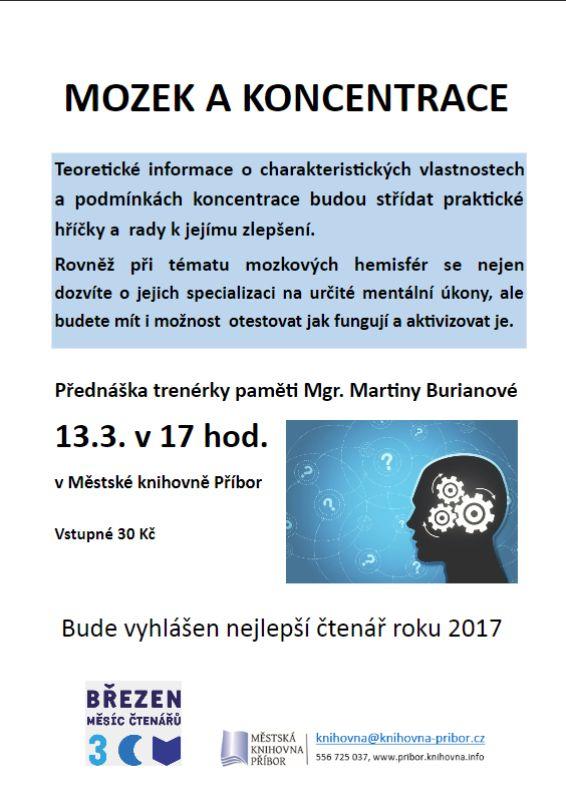 Mozek a koncentrace