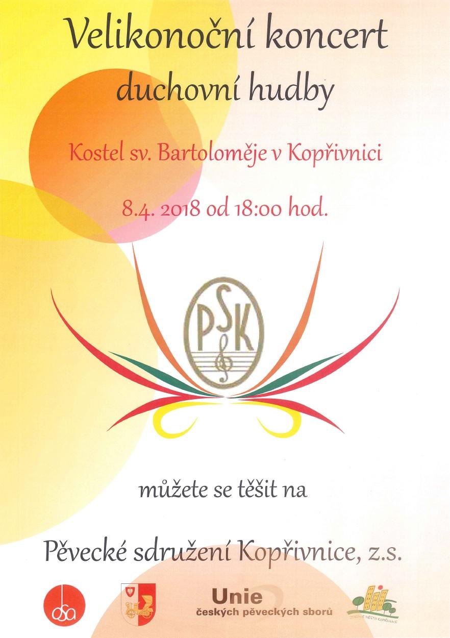 69014af5c64 Velikonoční koncert duchovní hudby - Kopřivnice - Lašská brána ...