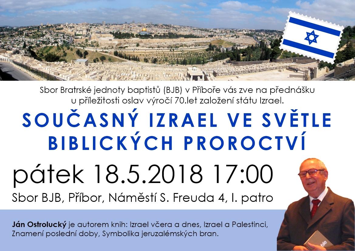 Současný Izrael ve světle biblických proroctví