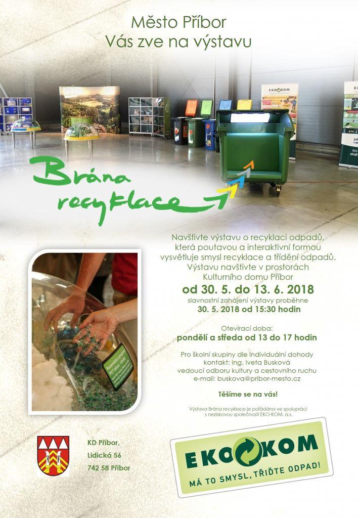 Výstava: Brána recyklace