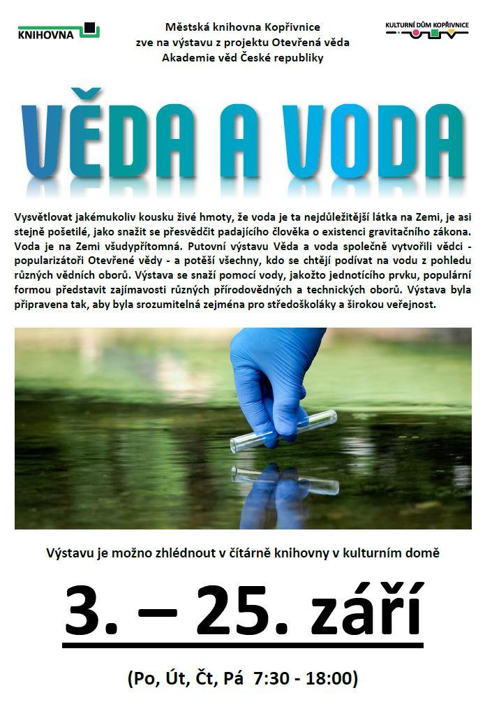 Věda a voda