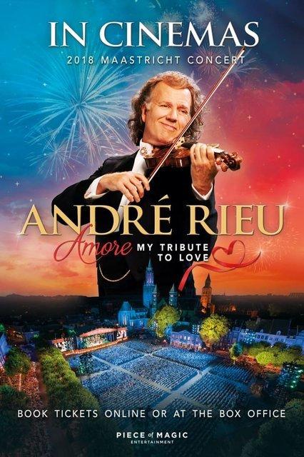 André Rieu Maastricht Concert 2018 Amore – hold lásce