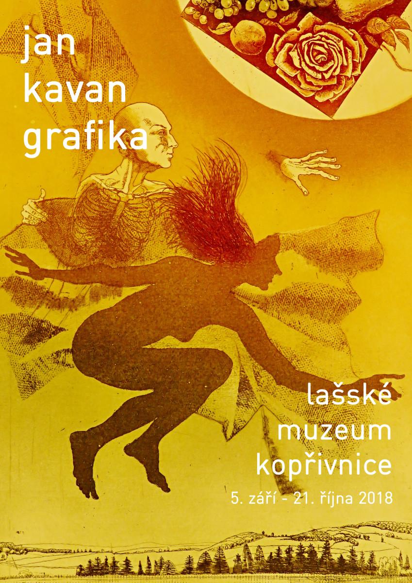 Jan Kavan: Grafika