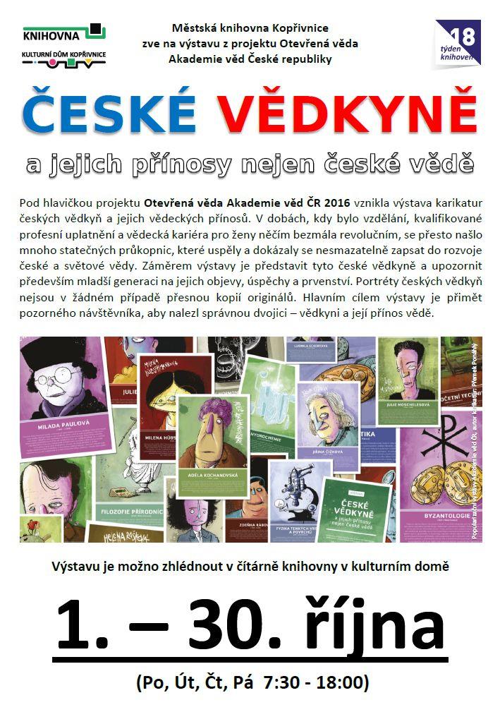 České vědkyně