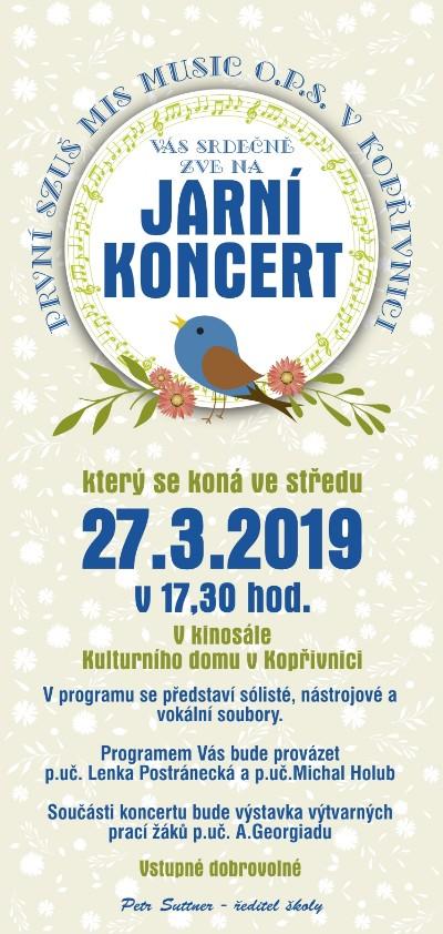 Jarní koncert MIS music