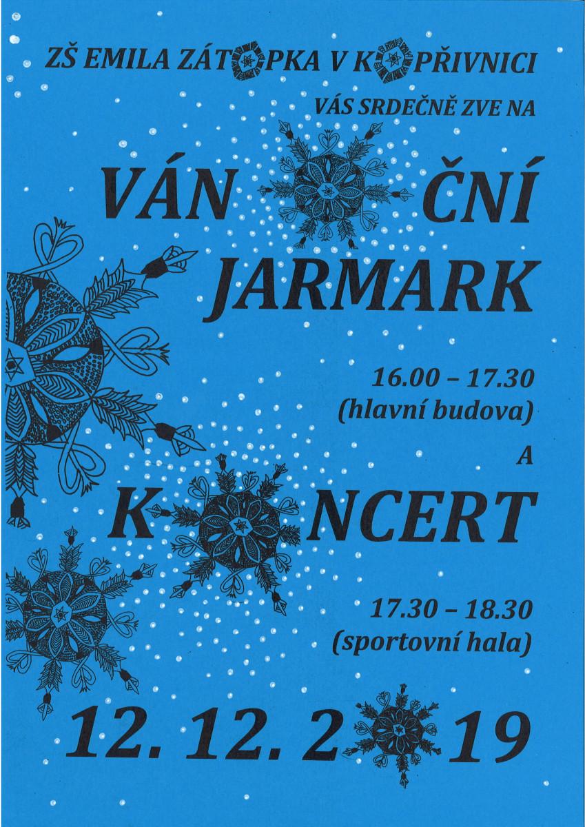Vánoční jarmark a koncert