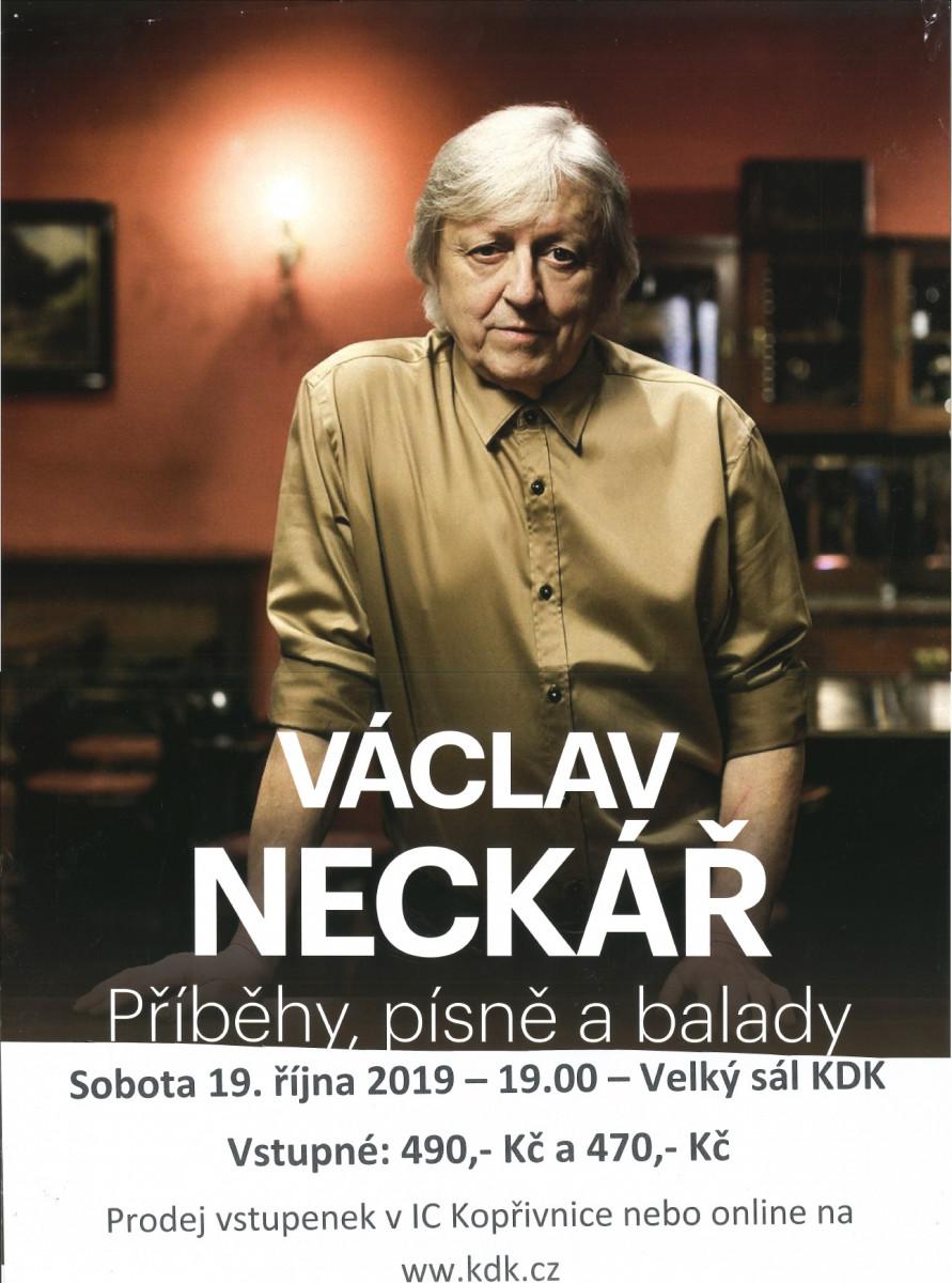 """KONCERT: Václav Neckář se skupinou Bacily """"Příběhy, písně, balady"""""""