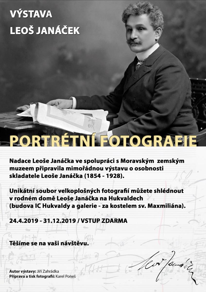 VÝSTAVA: Portrétní fotografie Leoše Janáčka