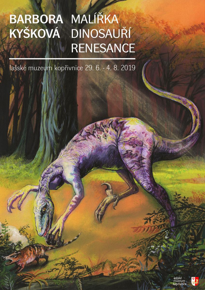 Malířka dinosauří renesance