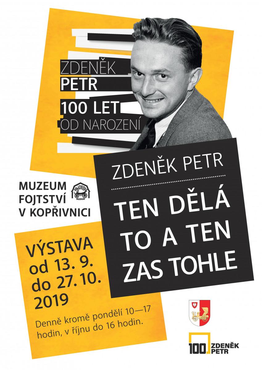 Zdeněk Petr, Ten umí to a ten zas tohle