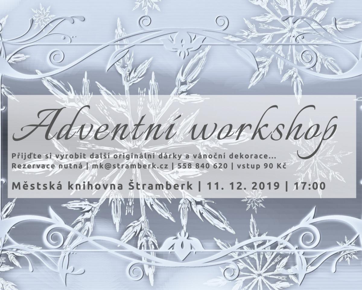 Adventní workshop