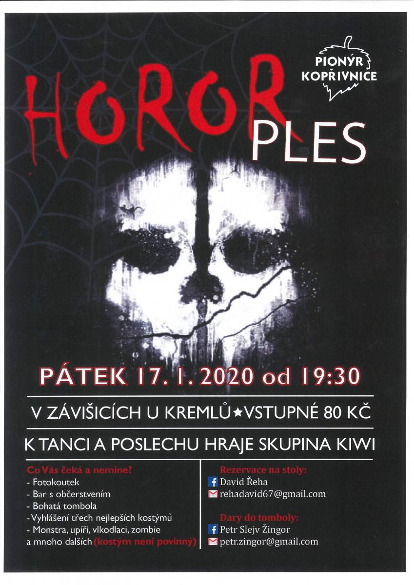Horor ples