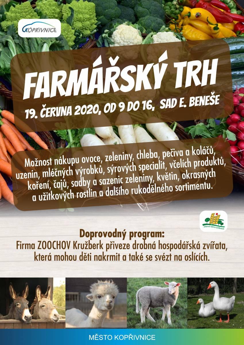 Farmářský trh - 19.6.2020