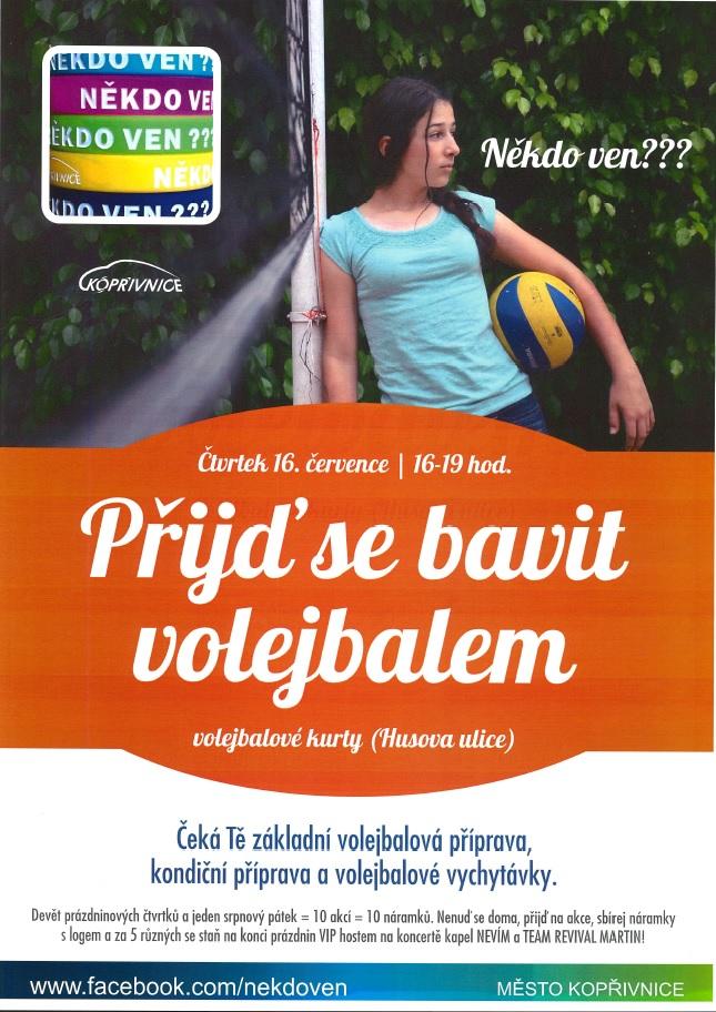Přijď se bavit volejbalem