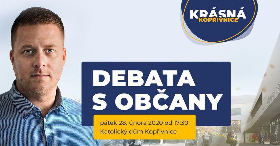 Debata s občany