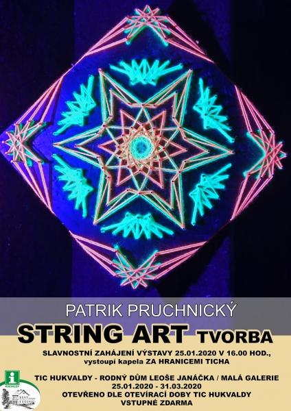 Patrik Pruchnický - STRING ART Tvorba