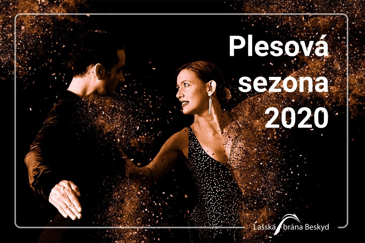 Plesová sezóna 2020 v Lašské bráně Beskyd a okolí