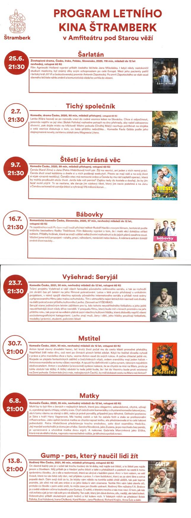 Letní kino Štramberk
