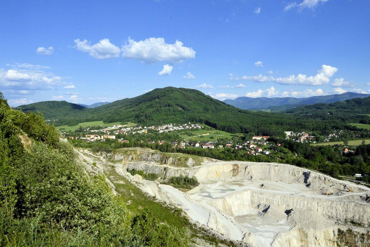 Štramberk - pohled z Kotouče