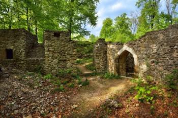 Ruine der Burg Šostýn