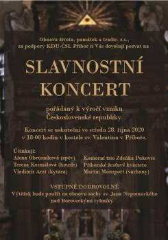 Slavnostní koncert
