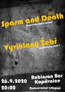 Spasm and Death - Vyviklaný Žebř