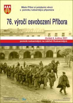76. výročí osvobození Příbora - ZRUŠENO - KOPIE