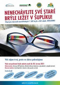 Sbírka brýlí pro Afriku