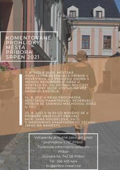 Komentovaná prohlídka městem Příbor