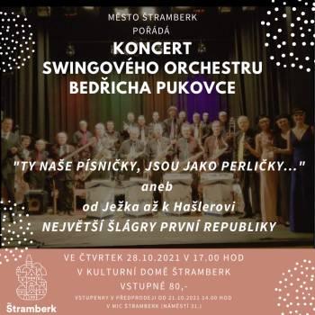 KONCERT: Orchestr Bedřicha Pukovce k 103. výročí ČSR