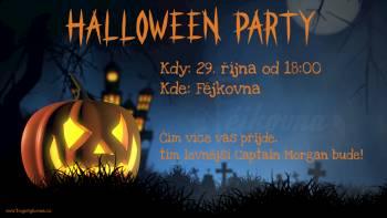 Halloween párty ve Fejkovně