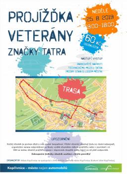 Tradiční projížďky ve veteránech značky Tatra