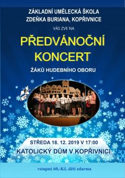 KONCERT: Vánoční koncert